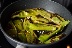 Szechuan Pan Fried Peppers Cooking Process | omnivorescookbook.com