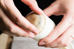 Traditional Mooncake Cooking Process   omnivorescookbook.com