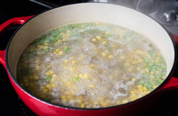 Chinese Corn Soup Cooking Process | omnivorescookbook.com