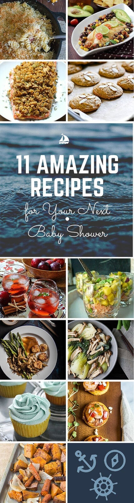 11 Amazing Recipes for Your Next Baby Shower | Simply Fresh Dinners