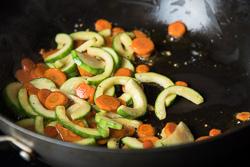 Chicken Fried Rice Cooking Process | omnivorescookbook.com
