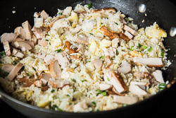 Chicken Fried Rice Cooking Process | omnivorescookbook.com