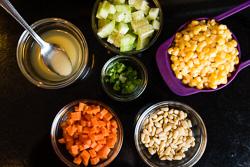 Stir Fried Corn with Pine Nuts Cooking Process   omnivorescookbook.com