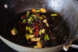 Suan Cai Yu Cooking Process | omnivorescookbook.com