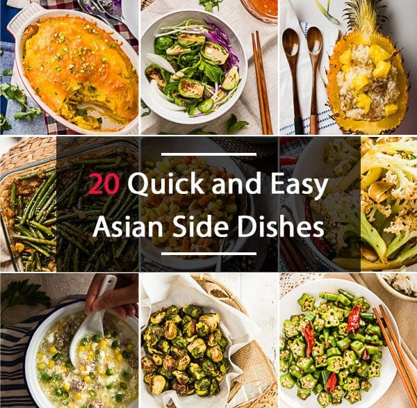 20 Quick and Easy Asian Side Dishes - https://omnivorescookbook.com/20-asian-side-dishes