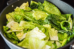 Chinese Vinaigrette Cabbage Stir Fry Cooking Process | omnivorescookbook.com