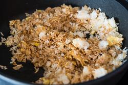 Soy Sauce Fried Rice Cooking Process | omnivorescookbook.com