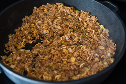 Soy Sauce Fried Rice Cooking Process | omnivorescookbook.com