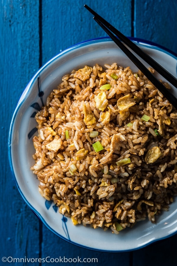 Soy sauce fried rice omnivores cookbook soy sauce fried rice ccuart Images
