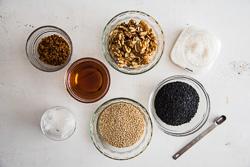 Quinoa Sesame Brittle Cooking Process   omnivorescookbook.com
