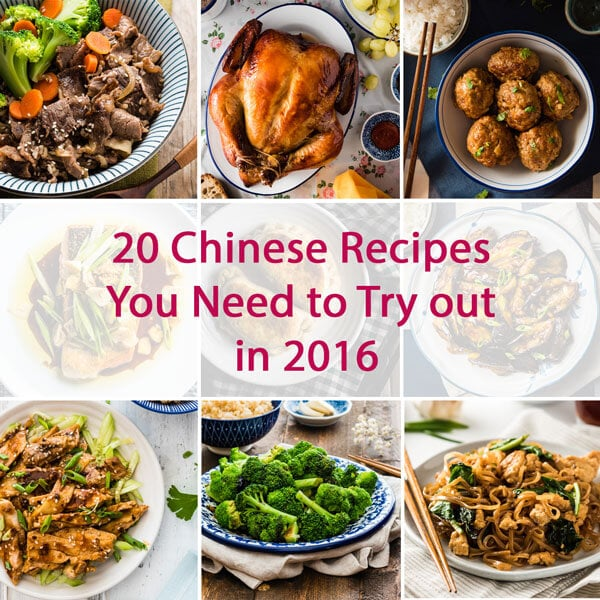 20 Chinese Recipes You Need to Try Out in 2016