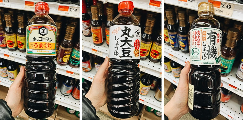 Regular soy sauce brands