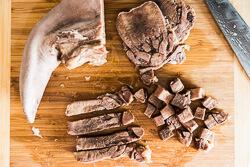 How to Cook Beef Tongue Cooking Process   omnivorescookbook.com