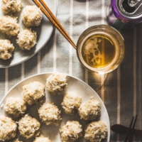 Pearl Balls (Steamed meatballs in sticky rice, 珍珠丸子) - Fun to cook and great tasting! | omnivorescookbook.com