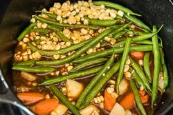 Northern Vegetable Stew with Pork in Hot Sauce Cooking Process   omnivorescookbook.com