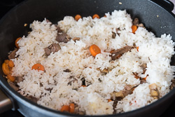 Peking Duck Fried Rice Nutrition Facts | omnivorescookbook.com