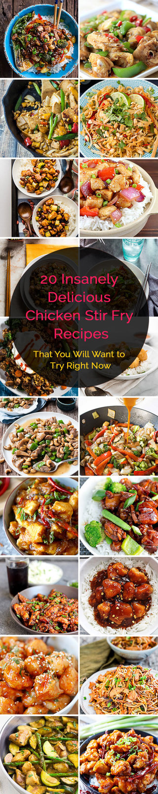 20 Insanely Delicious Chicken Stir Fry Recipes That You Will Want to Try Right Now