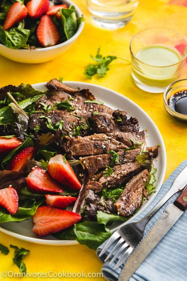Pressure Cooker Lamb Leg - Cook moist and tender lamb with minimal time in the kitchen! The post includes two dipping sauce recipes and three ways to serve the lamb.