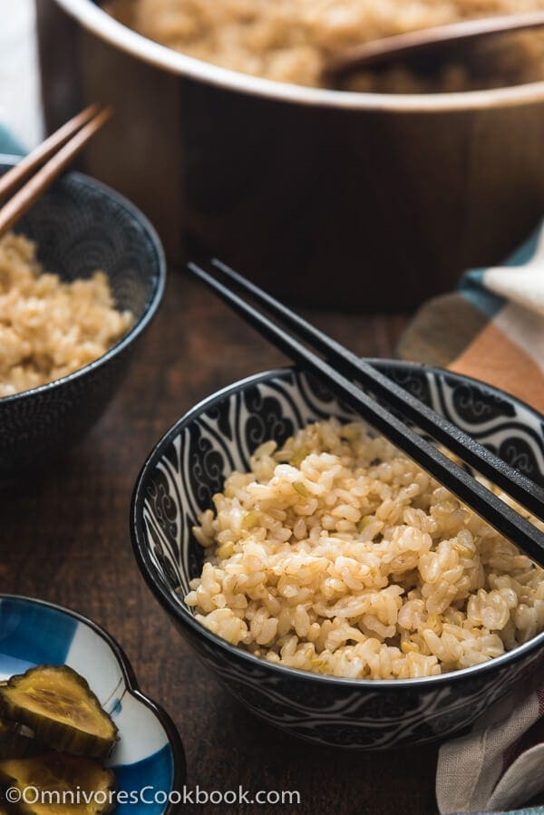 Pressure Cooker Brown Rice - Learn how to use minimum time and prep to cook perfect fluffy brown rice, and how to store and reheat it properly.