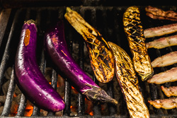 Grilled Eggplant with Yu Xiang Sauce Cooking Process