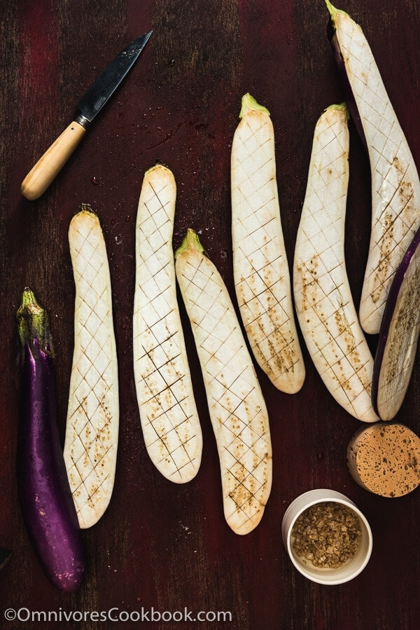 how to make eggplant sauce