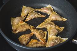 Tomato Beef Wonton Cooking Process