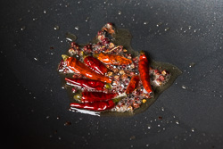 Szechuan Spicy Peanuts Cooking Process