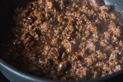 Sesame Beef Squash Noodle Bowl Cooking Process