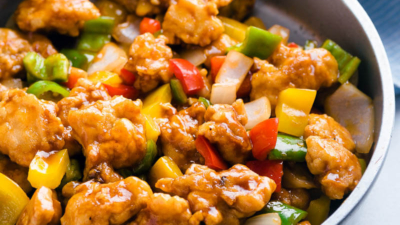Sweet and Sour Chicken | No Deep Fry Required | Crispy | Takeout | Chinese | Stir Fry | Easy | Sauce |