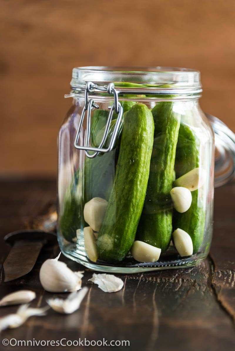http://omnivorescookbook.com/chinese-pickled-cucumber/