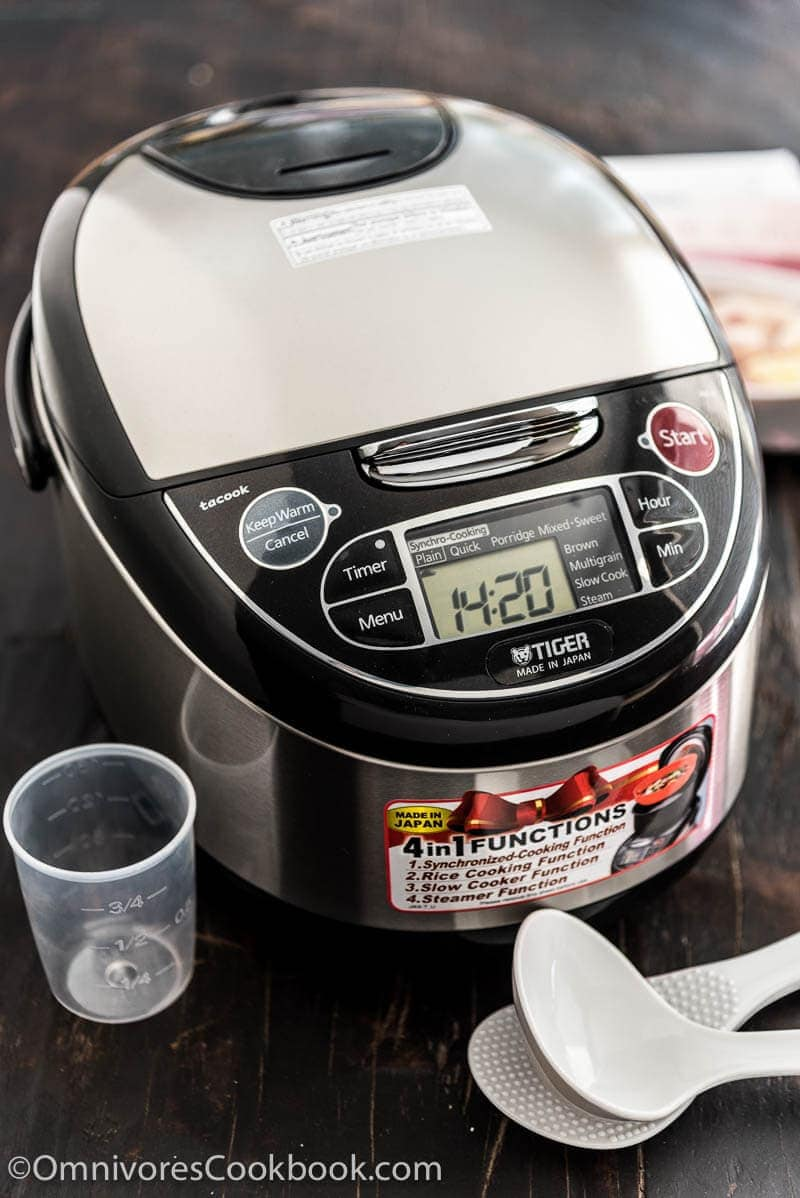Tiger Rice Cooker JAX-T Cooks Your Dinner With One Click