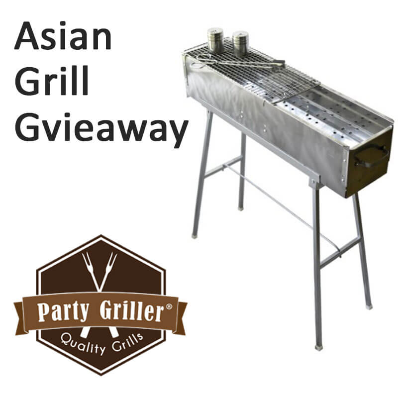 Asian Grill Giveaway
