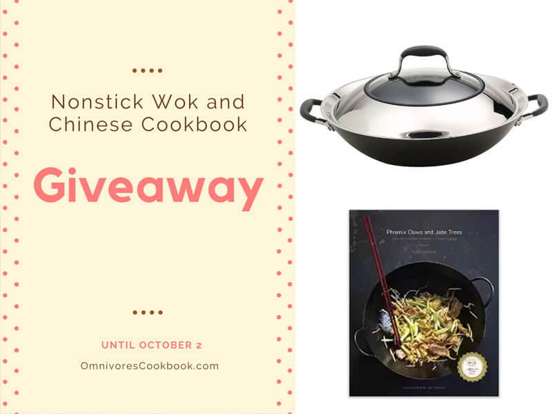 Nonstick Wok and Chinese Cookbook Giveaway