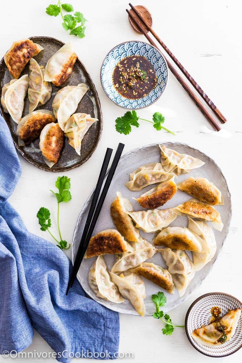 how to make chinese meat dumplings