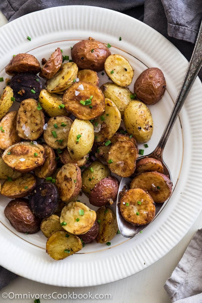 Potatoes With Indian Five Spice Recipe — Dishmaps