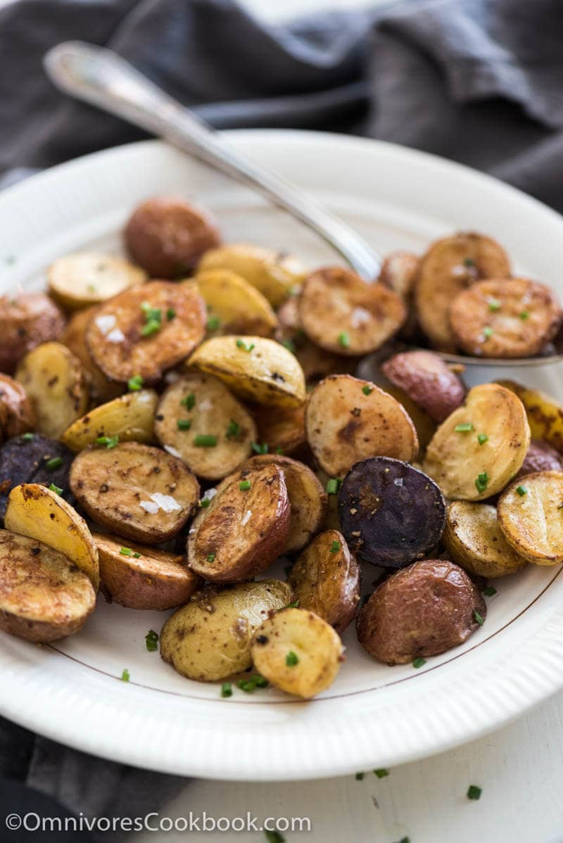 Level up your roasted potatoes with five spice powder and extra garlic ...