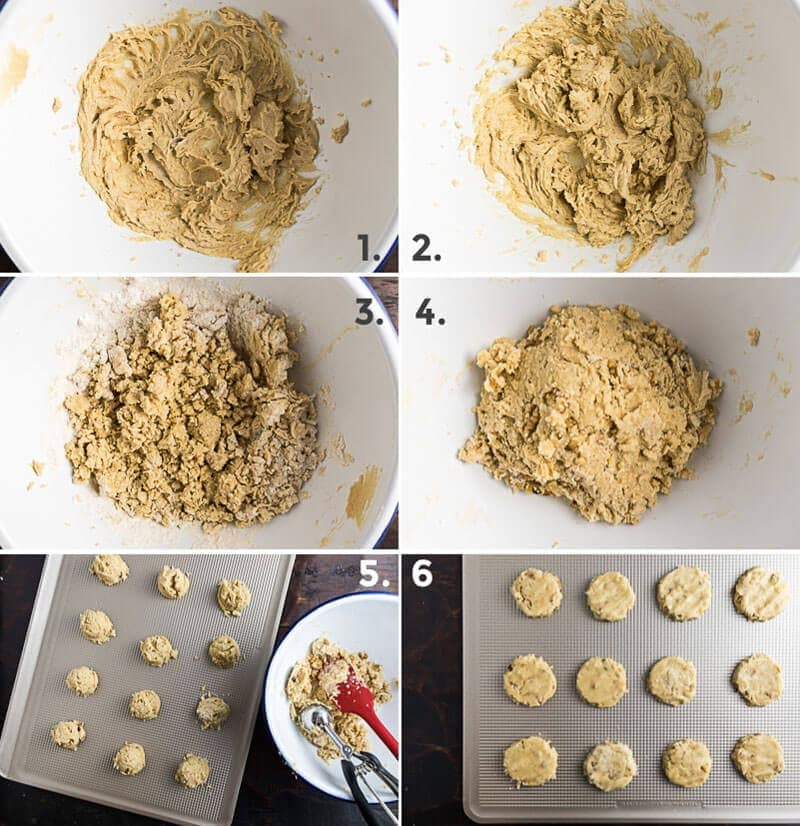 Chinese Walnut Cookies Cooking Process