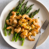 You only need one sauce, three ingredients, and 15 minutes to make this delicious wholesome plate of dinner. {gluten-free, paleo friendly}