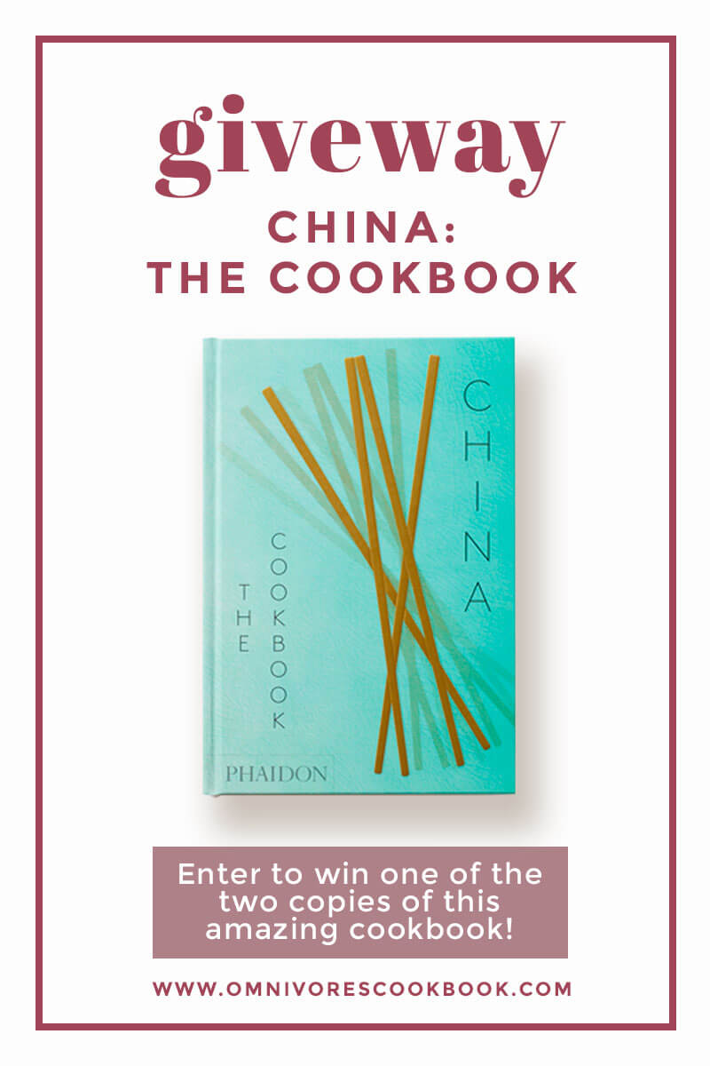 Chinese Cookbook Giveaway