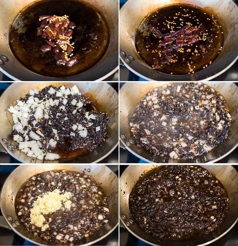 Homemade Black Bean Sauce Cooking Process