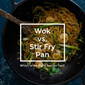 Wok vs. Stir Fry Pan - Which is the Right Tool for You?