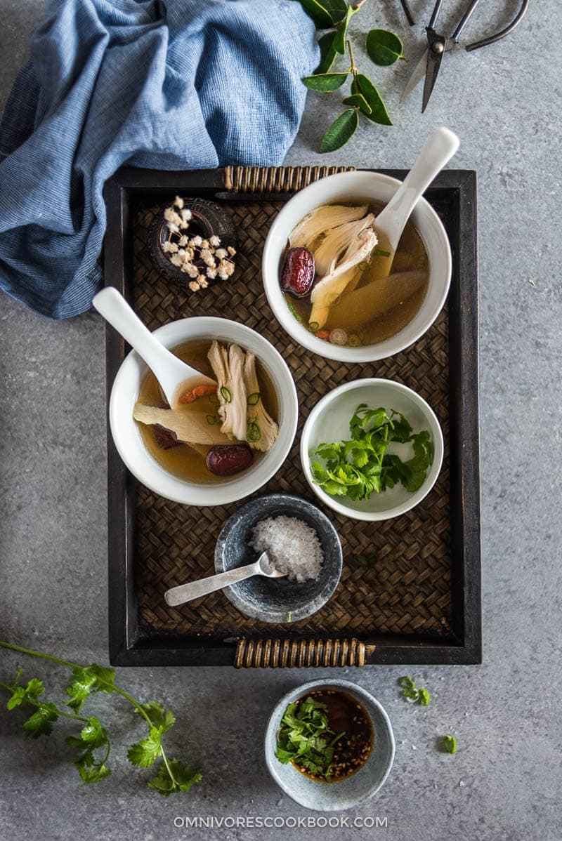 Chinese Herbal Chicken Soup | Omnivore's Cookbook