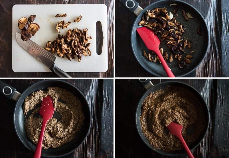 Homemade Vegetarian Oyster Sauce Cooking Process