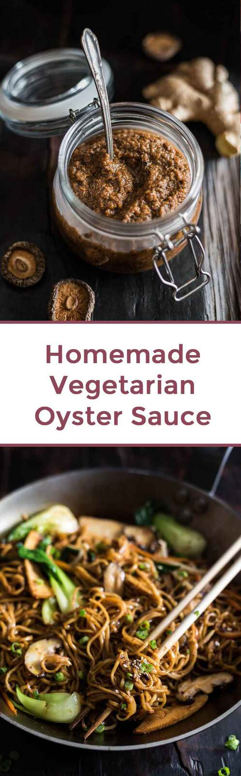 Homemade Vegetarian Oyster Sauce (Vegan Stir Fry Sauce) - Vegan | Vegetarian | Stir Fry | Sauce | Chinese Food | Gluten-Free