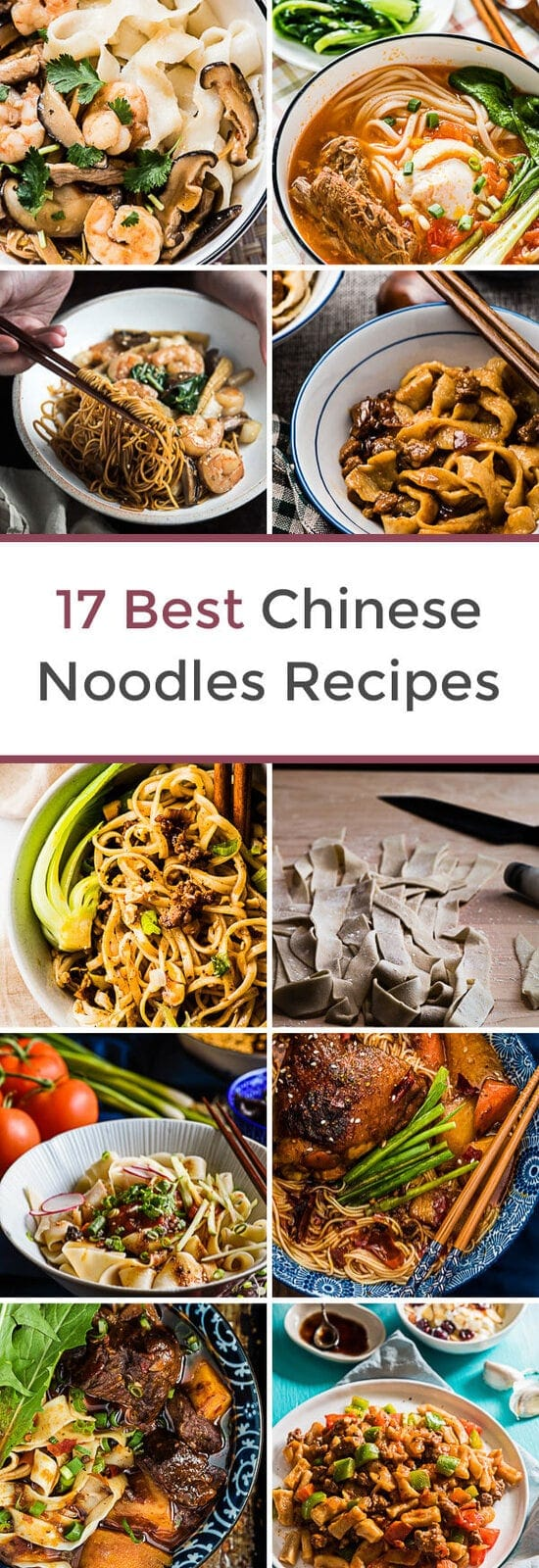 17 Best Chinese Noodles Recipes