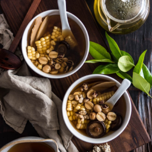 Detox Herbal Vegetable Broth | Vegan | Vegetarian | Gluten-Free | Asian Soup | Chinese Food