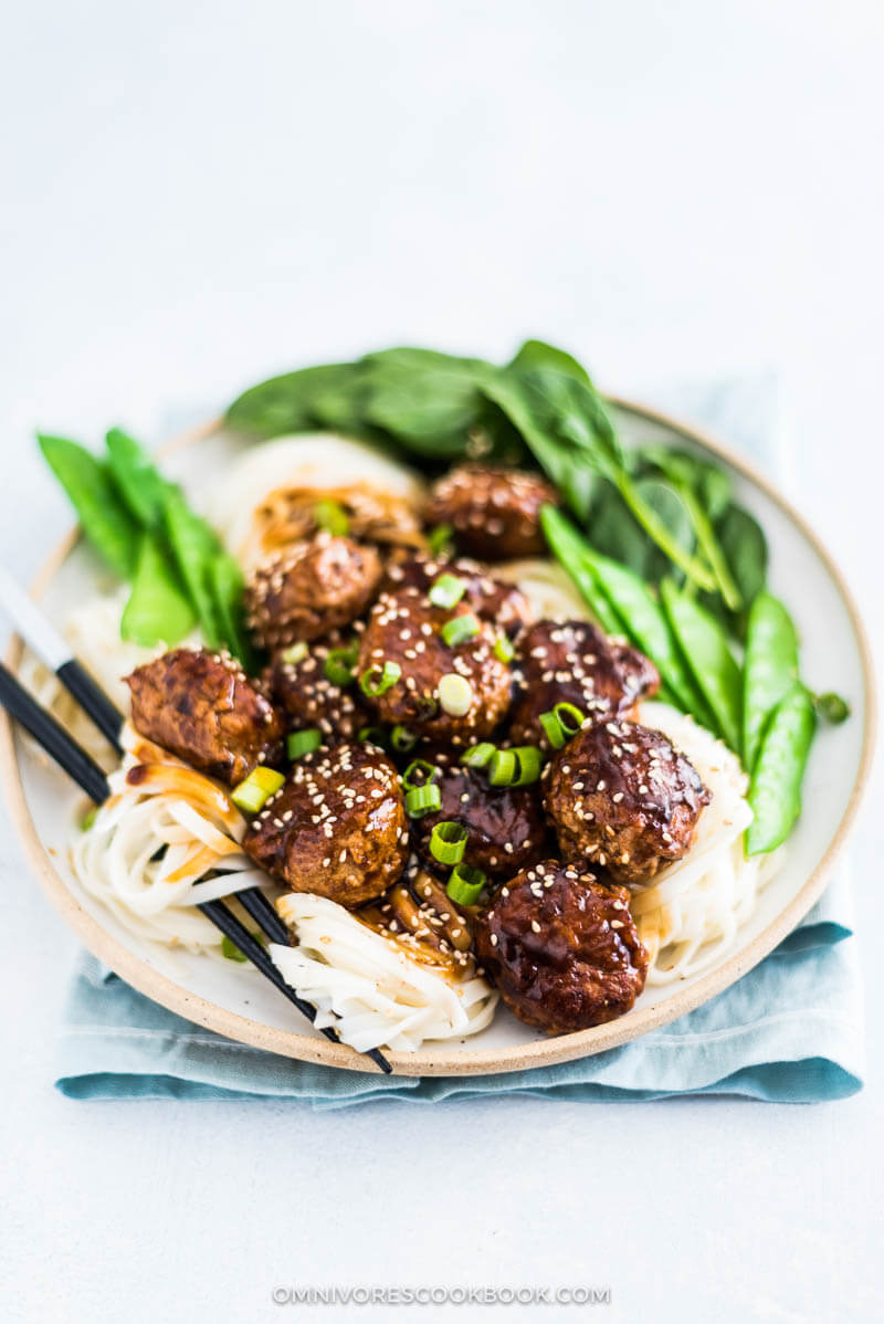 recipe: chinese turkey meatballs [35]