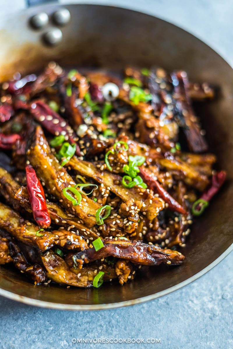 Szechuan Eggplant & Pork Recipe | Simple. Tasty. Good. |Spicy Eggplant Pork Recipe