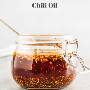 How to Make Chili Oil (辣椒油) | Chinese Chili Oil | Gluten-Free | Vegan | Vegetarian | Condiment | Chinese Food | Chinese Recipes | Asian Food