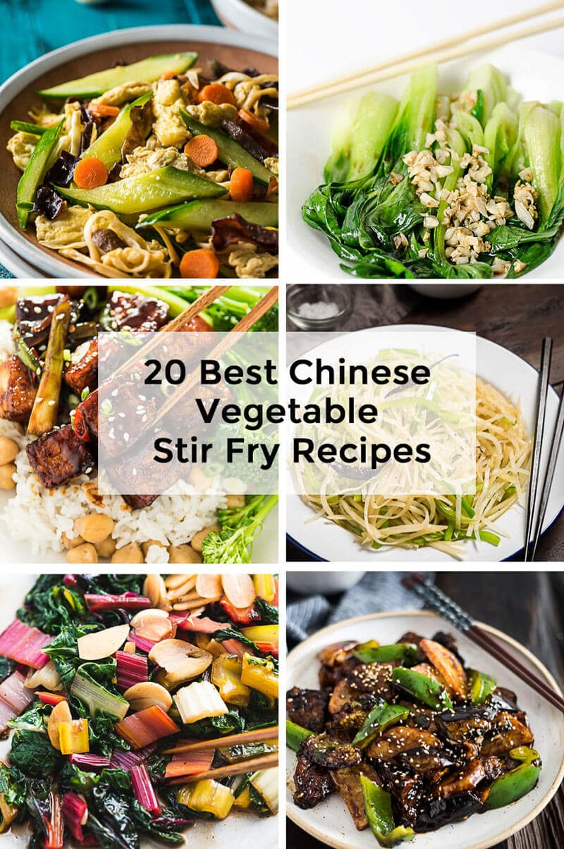 20 Best Chinese Vegetable Stir Fry Recipes Omnivores Cookbook